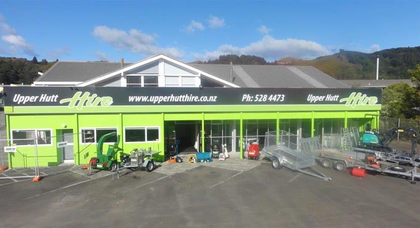 Upper Hutt Hire - Store Front