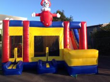 Upper Hutt Hire Clown Bouncy Castle