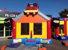 Upper Hutt Hire Monster Truck Bouncy Castle