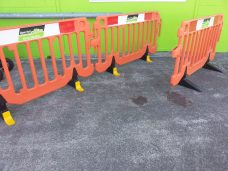 Traffi Tec Clear path clearpath safety security pedestrian fencing road barrier Upper Hutt Hire