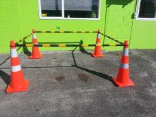 Traffice safety cones barriers bar Upper Hutt Hire rental