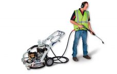 Rotary duel pressure washer Makinex Upper Hutt Hire