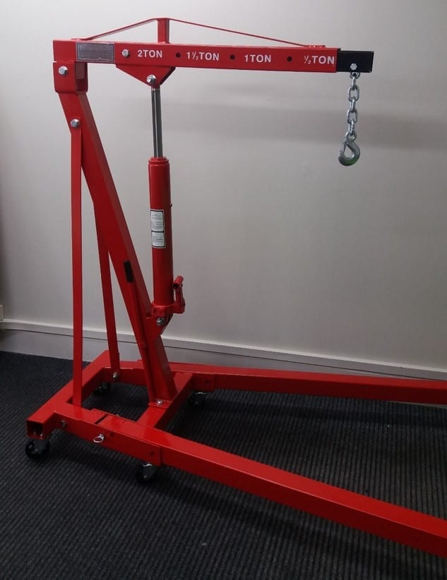 Lifting Block And Tackle : Mobile engine hoist mt upper hutt hire
