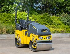 Bomag roller steam compaction rent borrow hire Upper Hutt flaten