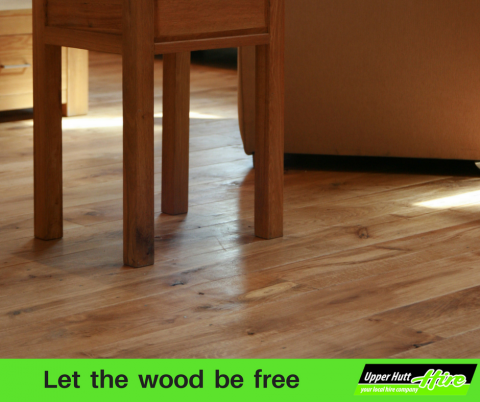 let the wood be free sander sanding wooden floor timber rimu tawa