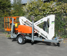 Upper Hutt Hire Cherry Picker scissor lifter acces high reach snorkel snorkle telescopic rent equipment