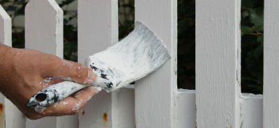 blog painting the fence rent hire Upper Hutt Hire equipment borrow water blaster DIY