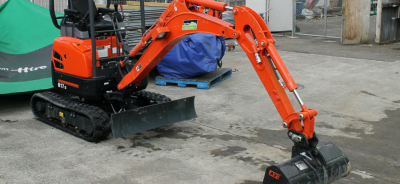 Excavator Kubota Upper Hutt Hire Digger rent hire equipment borrow tools