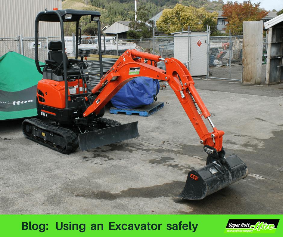Excavator Kubota Upper Hutt Hire Digger rent hire equipment borrow tools