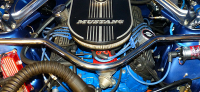 The mighty V8 engine Ford Chevy Upper HUtt Hire