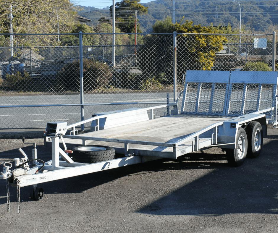 Car Transporter Tandem 4 3m X 1 95m Upper Hutt Hire