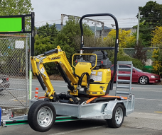 Yanmar xecavator digger Upper Hutt Hire Hirepool rent Kennards