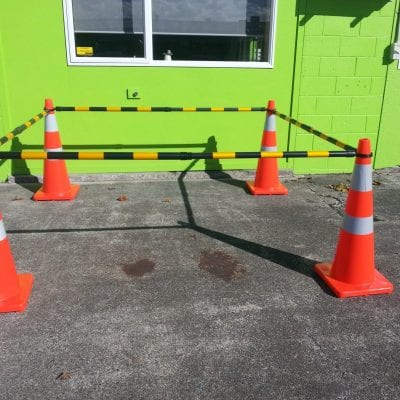 Traffic Cones and extendable Cone Bars