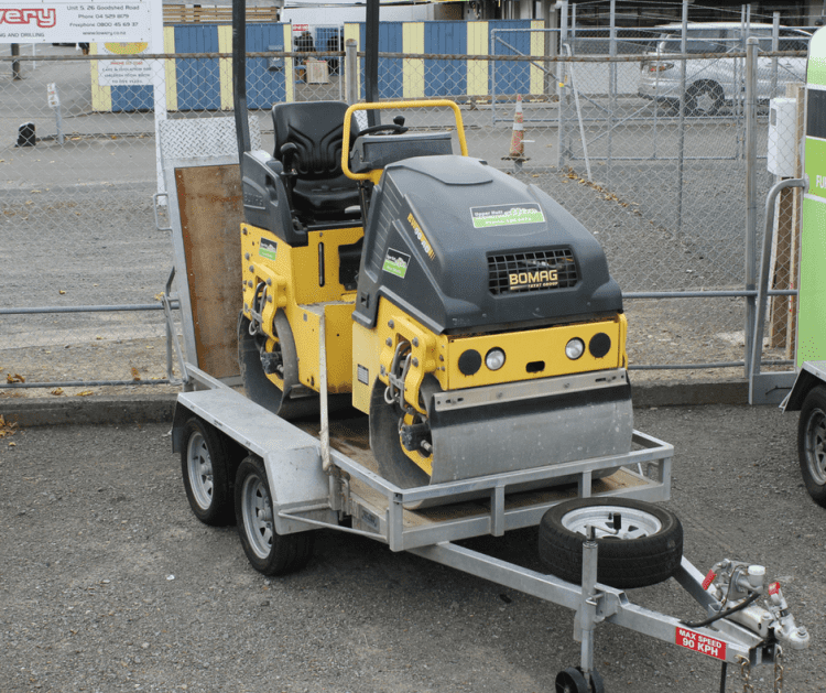 Bomag 1.6MT twin vibrating roller