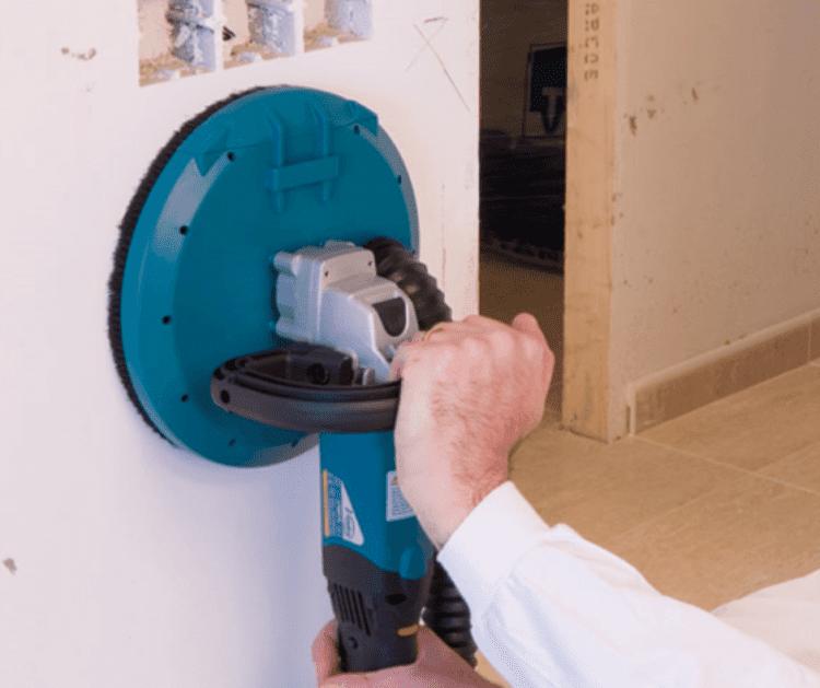 Gib Sander & Dust Extraction