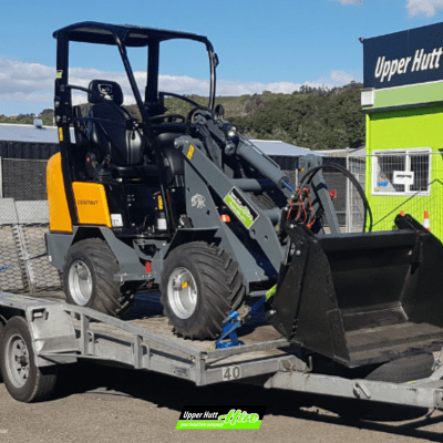 Upper Hutt Hire Rent Excavator Front end loader digger Hirepool Kennards