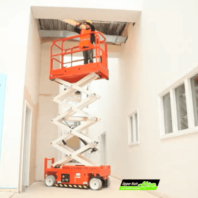 Upper Hutt Hire scissor lift lifeter rent Hirepool Kennards Access Height