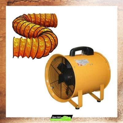 Upper Hutt Hire fan extraction gas waste fumes hire rent Kennards Hirepool