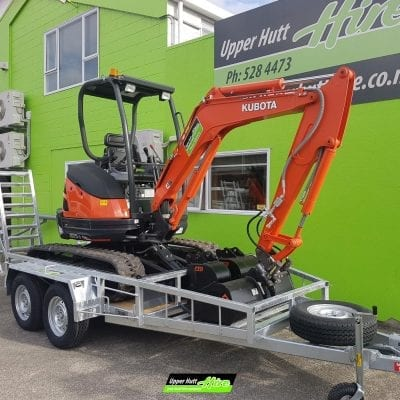 Upper Hutt Hire excavator digger rent hirepool Kennards