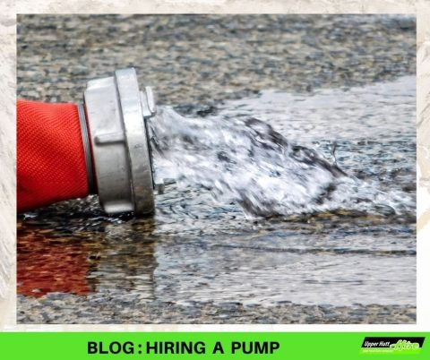 Upper Hutt Hire Pump rent rental Kennards Hirepool Petrol sludge sump trash sewage